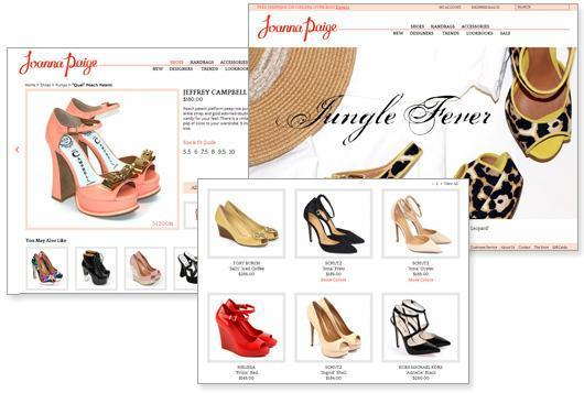 Magento eCommerce website for Joanna Paige